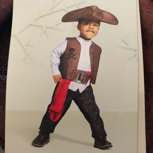 Other - 🦆 Toddler Pirate Costume With Hat